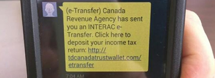 Be Aware Of CRA Tax Scams