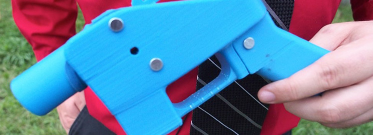 Are We Ready For 3-D Printed Guns?
